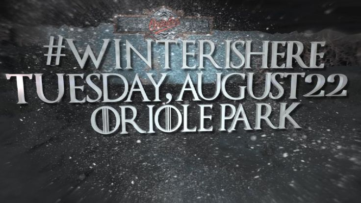 Orioles Game of Thrones