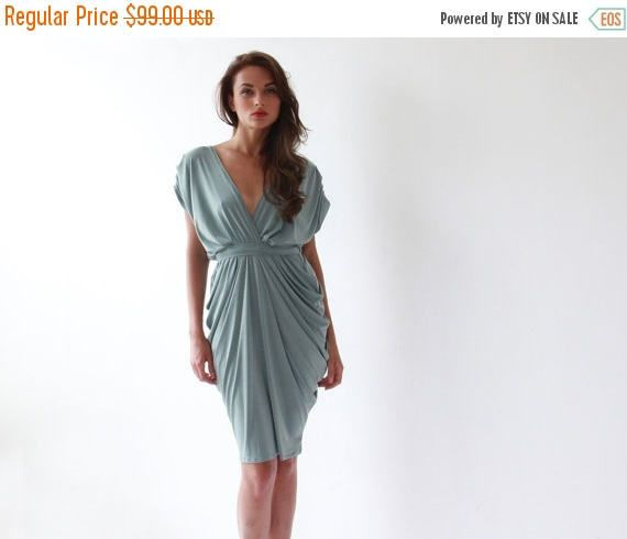Hey, I found this really awesome Etsy listing at https://www.etsy.com/listing/101148284/spring-sale-sage-formal-bridesmaids-gown