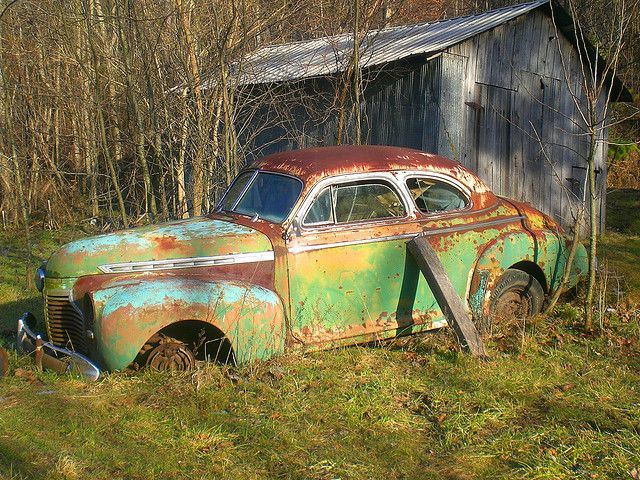 #Chevy slipping into #Nature. #Beauty #Vintage #Classic #RustinPeace