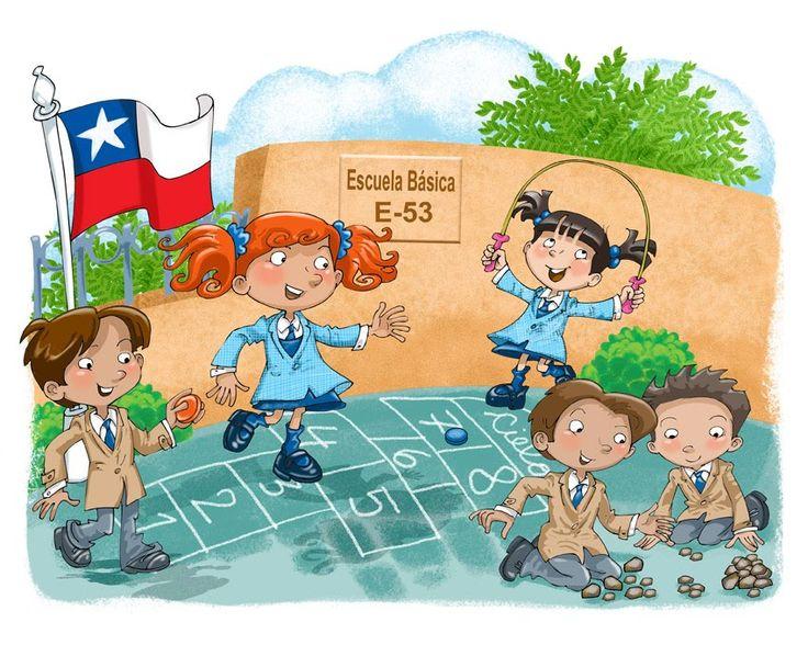 Praatplaat op het schoolplein