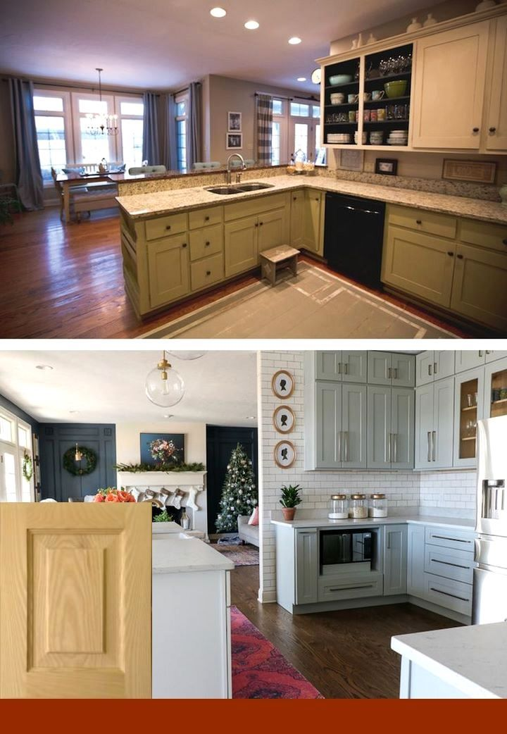 30 Small Kitchen Remodel Ideas Before And After 2019 Trend With Images Kitchen Remodeling Projects Kitchen Remodel
