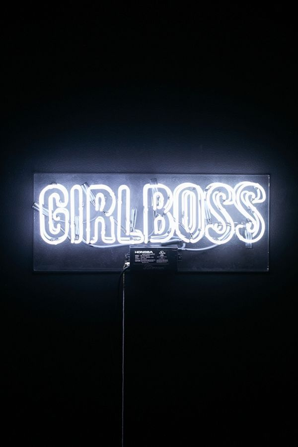 The Oliver Gal Artist Co Girlboss Neon Sign Neon Signs Neon Sign Bedroom Neon Quotes