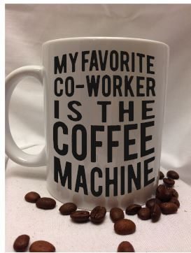 favorite co-worker coffee mug by LooneyCraft on Etsy