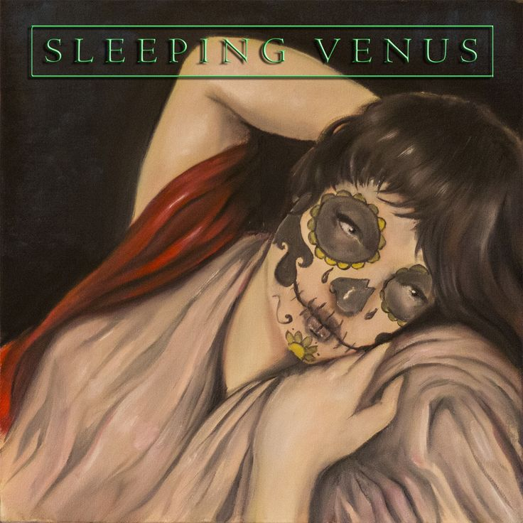Final cover art for 'Sleeping Venus' painting and layout by me!