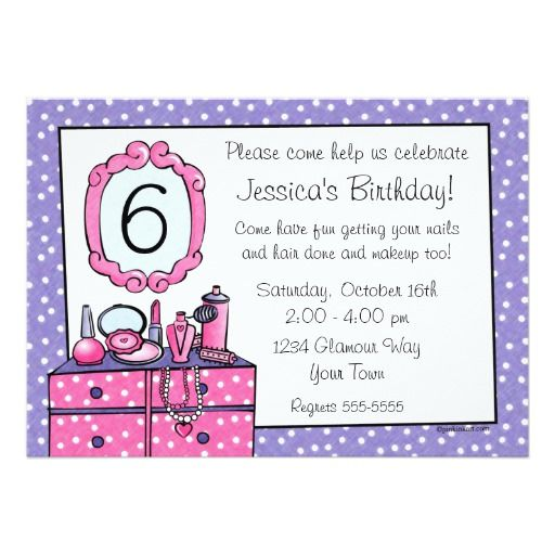 388 best Dress up Birthday party Invitations images – Girl Birthday Party Invitation