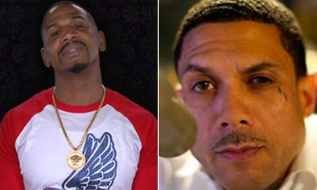 "The drama between the cast of ""Love and HipHop Atlanta"" has spilled off of our television screens and into real life. Things got real between former friends and business partners Benzino and Stevie J after Stevie J leaked nude photos of Benzino's fiancée Althea. After Stevie J dropped the photo online, all bets were off and Benzino went in on Stevie and his ""wife"" Joseline Hernandez. Stevie J posted a photo of Althea completely naked one her hands and knees in  between a man'"