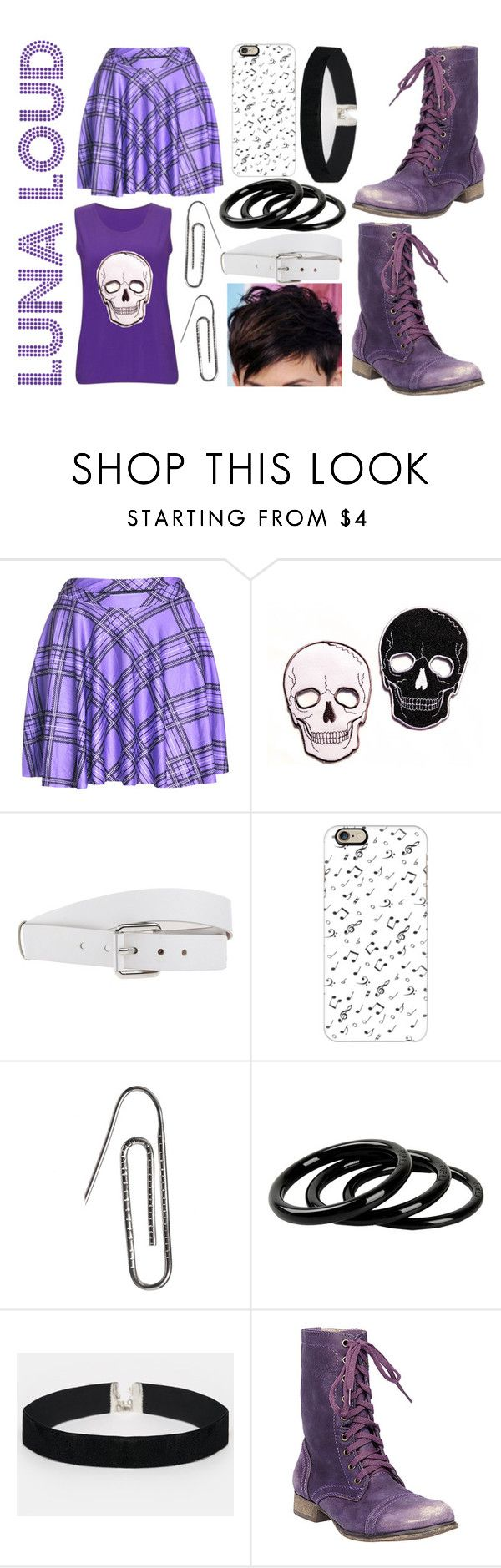 """Luna Loud (The Loud House) + Random Questions tag RTD!"" by lilithgemini ❤ liked on Polyvore featuring Michael Kors, Casetify, Carrie K., Furla, ASOS, Steve Madden and theloudhouse"
