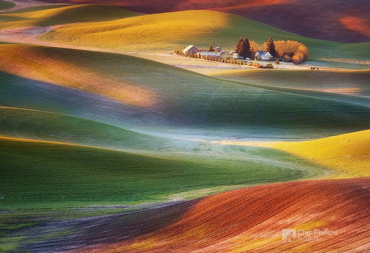 Frosty Morning Palouse by Chip Phillips on 500px