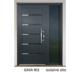 GAVA 953 Anthrazit domové dvere