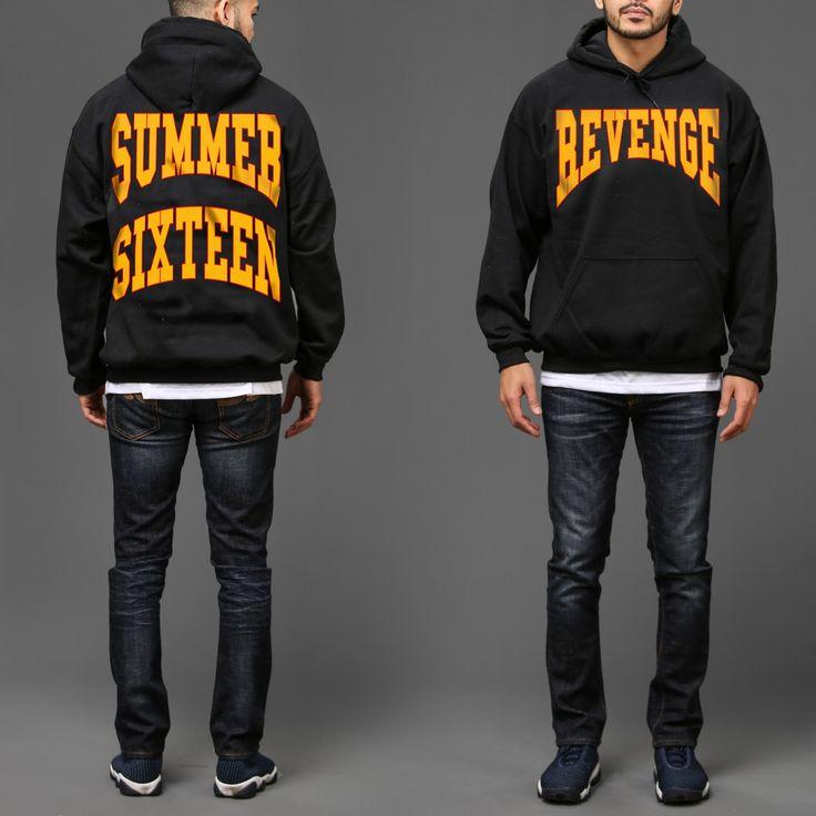Summer Sixteen Revenge Tour Black hoodie