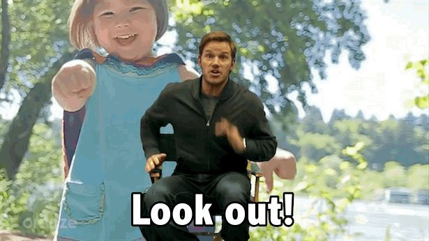 New trending GIF on Giphy. scared chris pratt fear dinosaurs omaze look out. Follow Me CooliPhone6Case on Twitter Facebook Google Instagram LinkedIn Blogger Tumblr Youtube