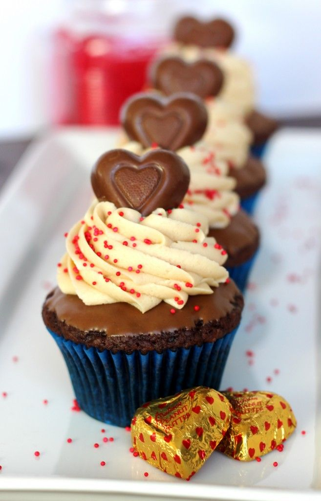 Chocolate Peanut Butter Cupcakes - Your Cup of Cake