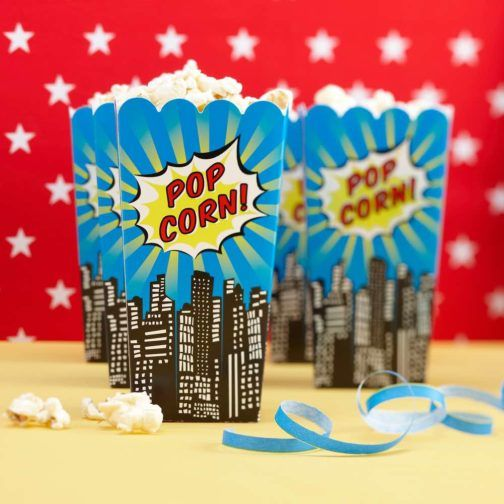 Superhéroe » Mister & Miss Party #BoxPopCorn #ComicBox #FunParty #ComicParty