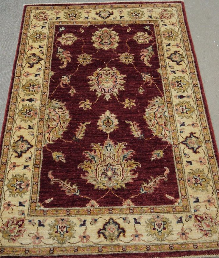 "NR: 19265 Location: Chobi Ziegler  Size: 4'0"" x 2'7"" Country: Afghanistan Pile: Wool Base: Cotton"