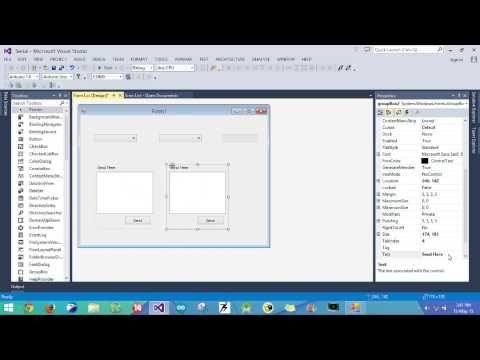 Visual Studio C Serial Communication Tutorial Part 1