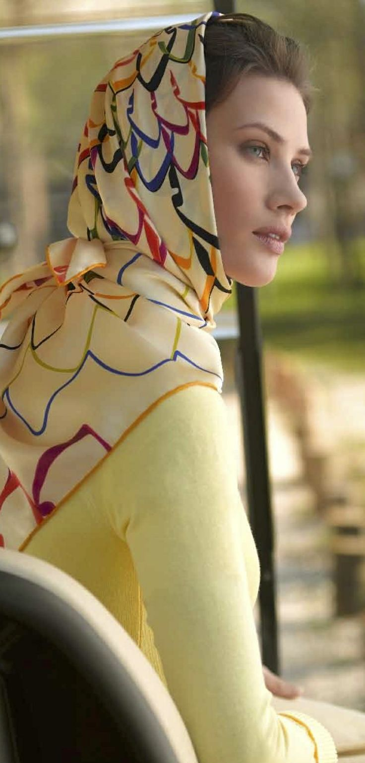Aker Eşarp / Scarf - 2007 S/S #aker #scarf #esarp #hijab #fashion #silk #scarves #moda #hijab #tesettur #model #mode #style #pattern #babushka #kerchief #shawl #wrapper #trend #aker #akeresarp #akerscarf