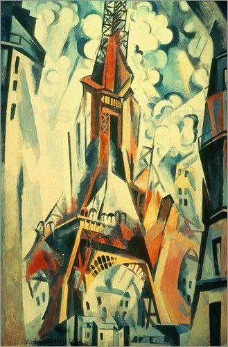 Robert Delaunay (1885-1941) was een Frans kunstschilder. kwam in 1909 in contact met de eerste kubisten, met name Fernand Léger, Henri Le Fauconnier en later Pablo Picasso. In 1911 exposeerde Delaunay op de Salon des Indépendants samen met een aantal andere kubisten: Metzinger, Gleizes, Léger en Le Fauconnier. De expositie staat te boek als de eerste tentoonstelling van de kubisten