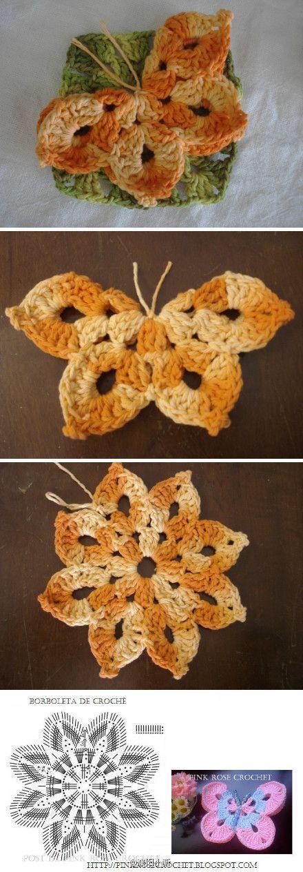 vlinder haken