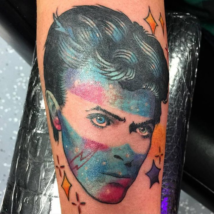 412 best david tattoos images on pinterest david bowie for Bowie tattoo ideas