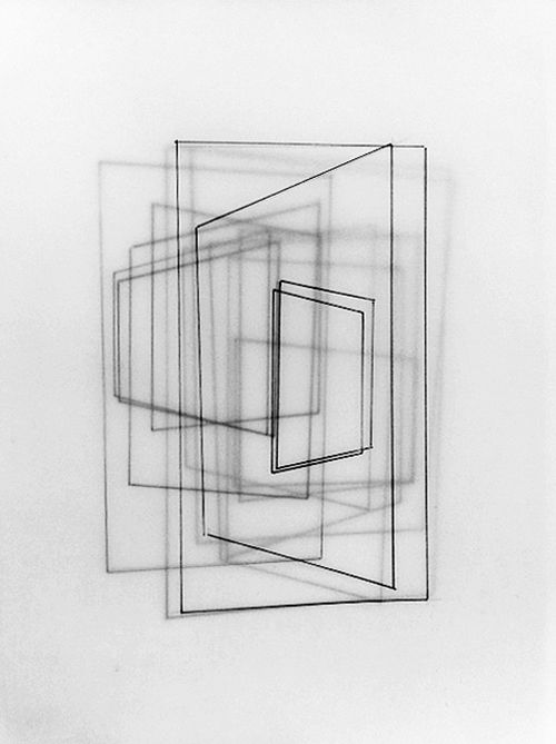 Charley Peters, Untitled Drawing, 2013 (Ink on tracing paper)