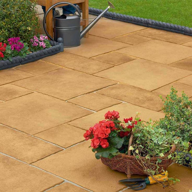 firedstone is a stylish paving moulded from original flame treated mason fettled flagstones