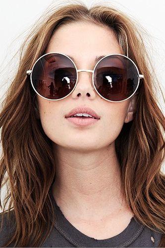 Womens Mirrored Sunglasses