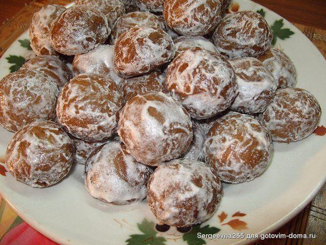 Пряники сахарные • Печенье, пряники и прочая мелкая выпечка