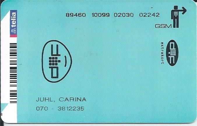Karte Telefonike: Department of Future 02 (Mobile Sweden, Suedi) (Telia (Mobile SIM cards))