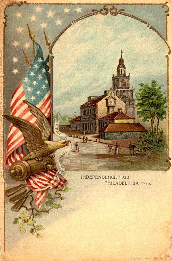 Американские открытка