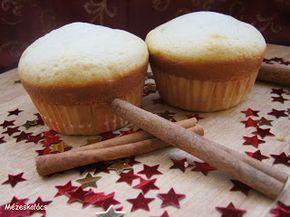 Mézeskalács konyha: Almás-fahéjas töltött muffin