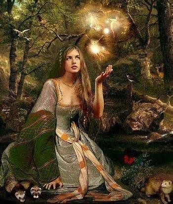 Airmed, Celtic Goddess of healing and herbalism                                                                                                                                                      More