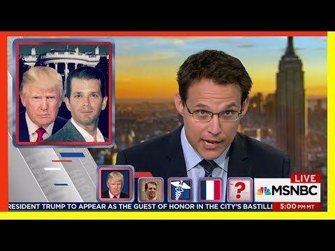 """MSNBC Chris Matthews 7/13/17 - Trump: Trump Jr's meeting """"standard in politics"""""""