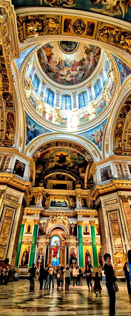 Saint Isaak's Cathedral ~ St.Petersburg, Russia | The House of Beccaria