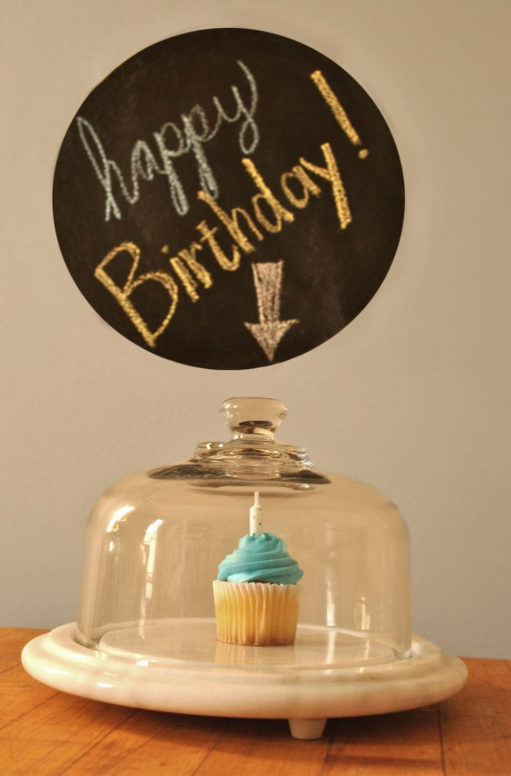 Create a message for any occasion with Erstwhile Mercantile's Chalkboard Wall Decal www.erstwhilemercantile.com