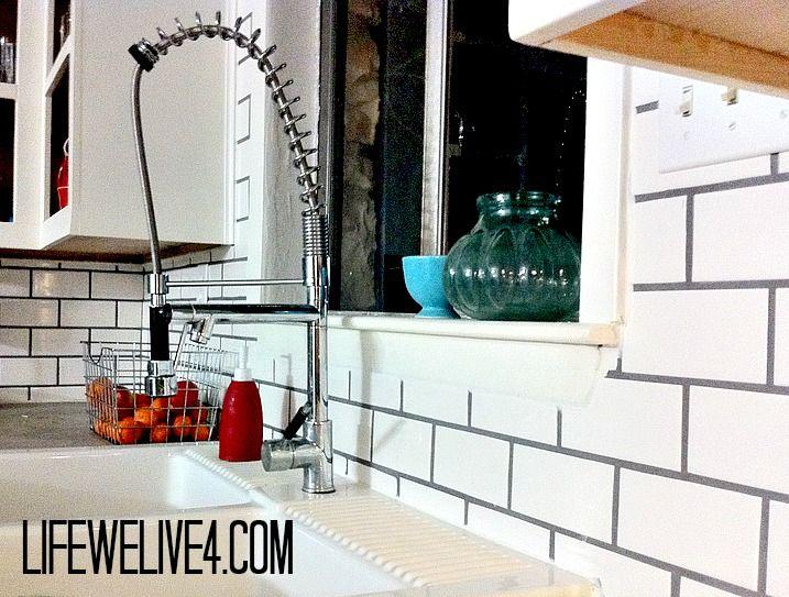 diy subway tile backsplash for the kitchen kitchen