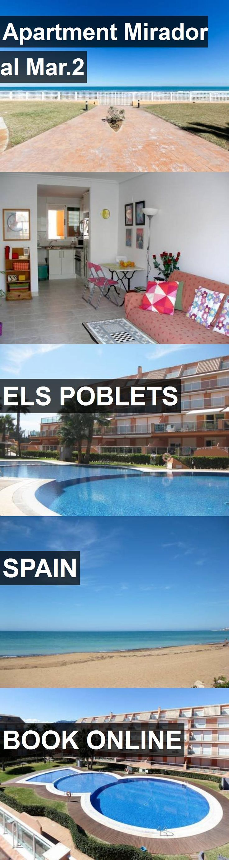 Hotel Apartment Mirador al Mar.2 in Els Poblets, Spain. For more information, photos, reviews and best prices please follow the link. #Spain #ElsPoblets #ApartmentMiradoralMar.2 #hotel #travel #vacation