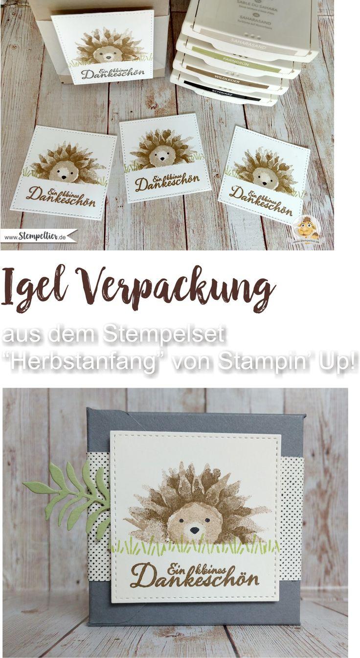 stampin up blog hedgehog video hedgehog sunflower sunflowers stmpeltier autumn