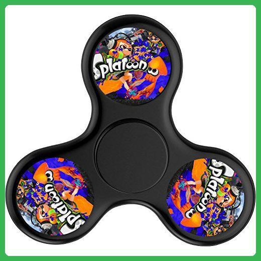 99 JIAYOU Custom Fidget Spinner Splatoon-Inkling Squid Video Game Tri-Spinner High Speed Spin - Fidget spinner (*Amazon Partner-Link)