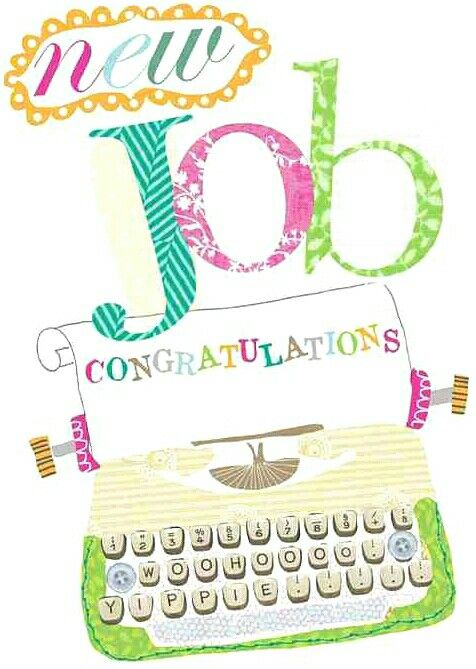 The 10 best New Job images on Pinterest Congratulations card, New