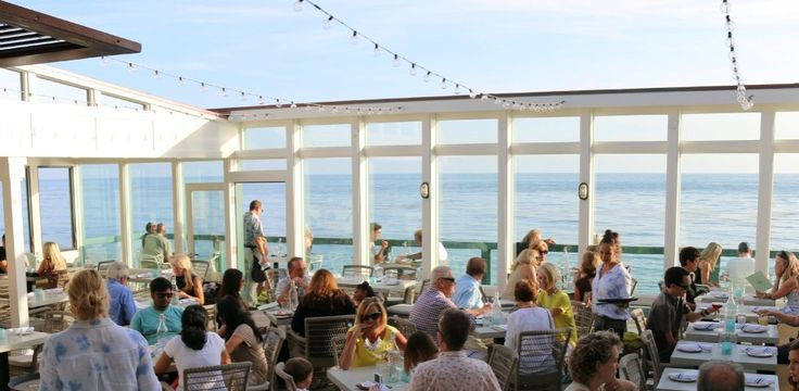 Driftwood Kitchen is located on beautiful Laguna Beach, one of Orange County's most picturesque beaches.