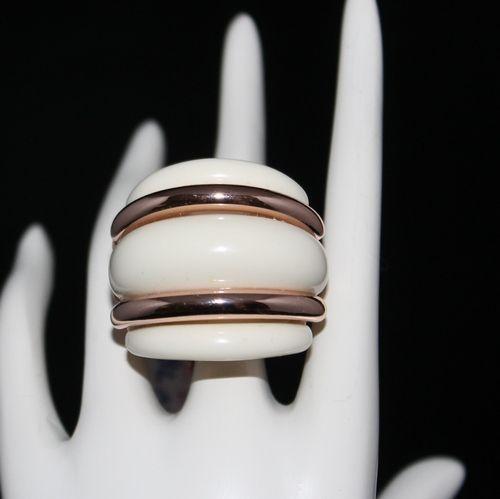 Rose Gold Statement Ring