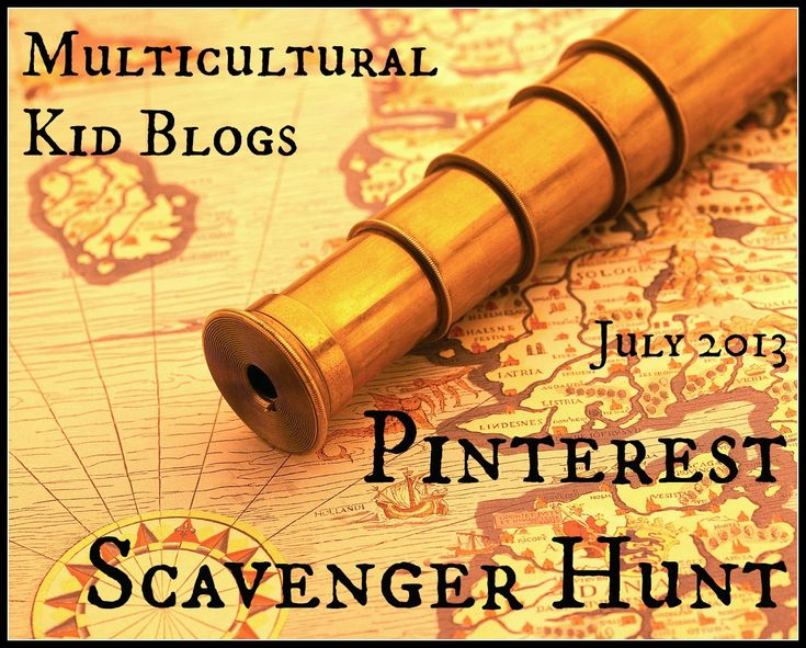 Multicultural Kid Blogs Pinterest Scavenger Hunt - Are you up for an adventure?