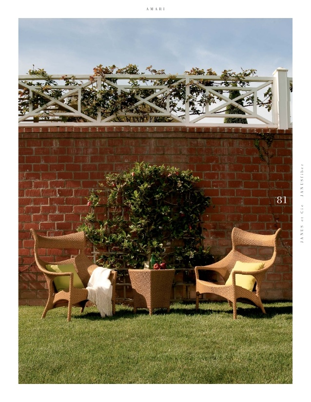 Amari high back janus et cie exteriors pinterest for Janus et cie