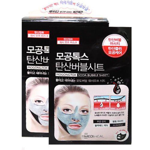 K-Beauty Mediheal Mogongtox Soda Bubble Sheet 10pcs #Mediheal