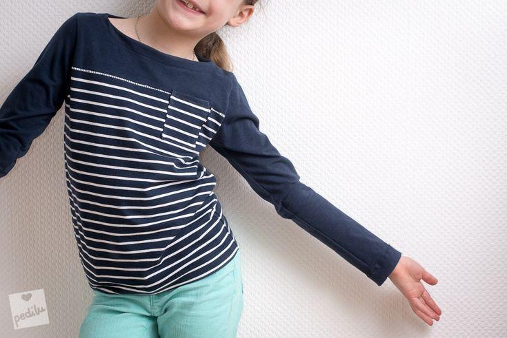 E-Book »LeBretöngchen« – Ein Basic-Shirt für Mädchen und Jungs mit Teilung und Brusttasche