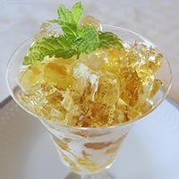 Receta de Uva moscatel con gelatina de manzana