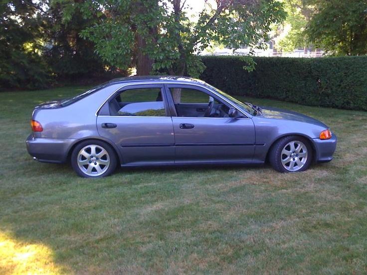 Pimped Out Honda Civic Si imagine the 95 ...