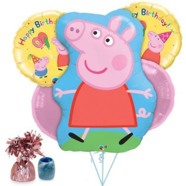 Shop for Peppa Pig Balloon Kit and other Individual party supplies. The most popular party Supplies and Decorations, all available at wholesale prices!