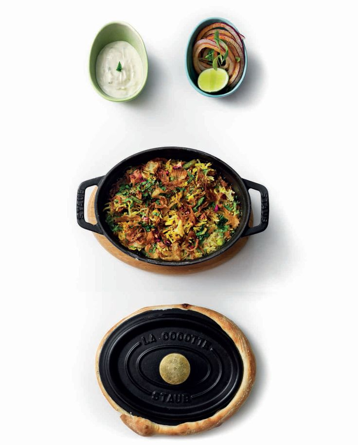 Vegetable biryani recipe from Benares by Atul Kochhar | Cooked