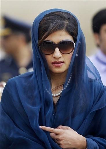Hina Rabbani Khar - Foreign Minister of Pakistan